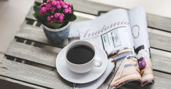coffee-flower-reading-magazine